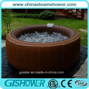 Freestanding 2 Person Outdoor SPA Bathtub (pH050010 Brown) pictures & photos