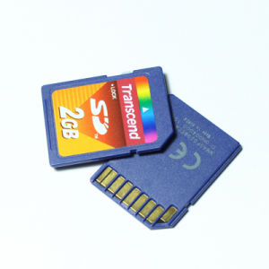 Transcend 2g SD Secure Digital Memory Card 2GB SD Card pictures & photos