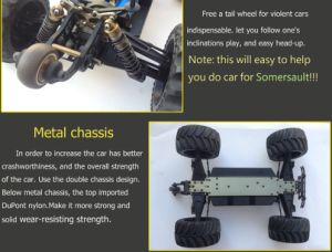 Metal Chassis Brushless Electric RC Car 120A ESC 2.4GHz 1/10th pictures & photos