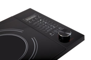 Knob with Touch Control Horizontal Type Single Household Induction Cooker 2kw pictures & photos