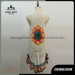 Sleeveless Handmade Crochet Cardigan Vest Fashion pictures & photos