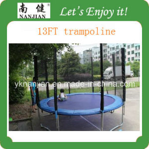 13ft Commercial Trampoline for Adults Park with Safety Net pictures & photos