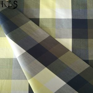 Cotton Poplin Woven Yarn Dyed Fabric for Garments Shirt Dress Rlsc60-3 pictures & photos