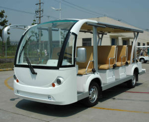 Battery Power Electric Bus Electric Passenger Bus Electric Tram pictures & photos