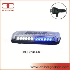Police Vehicle Strong Magnetic LED Mini Lightbar (TBD0898-6h) pictures & photos