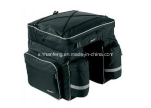 840d Polyester Bicycle 3 in 1rear Pannier Bag (HBG-053) pictures & photos