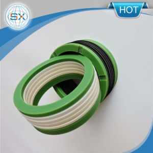 3000psi Homogeneous Rubber Vee Rings Seals for Parts of Control Valve pictures & photos