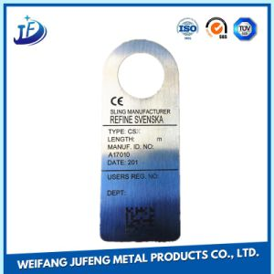 Metal Stamping Stainless Steel Name Plate for Custom Bending/Spinning/Plating Products pictures & photos