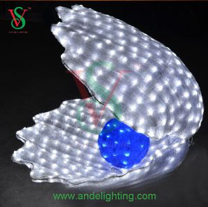 Street Decoration Light LED 3D Shell Motif Light pictures & photos