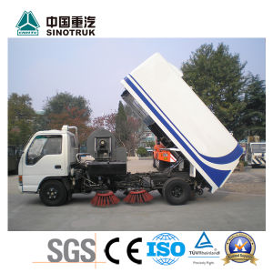 Competive Price Sweeper Truck of Sinotruk pictures & photos