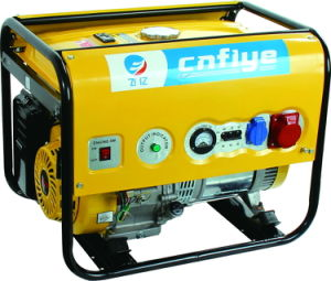 Fy6500-4 5kw Electric Start Three Phase Gasoline Generator pictures & photos