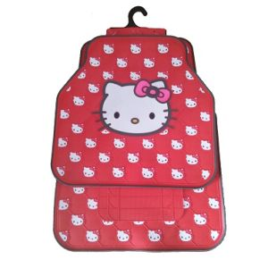 Car Floor Mats Hello Kitty Latex Auto Mats Easy to Clean and Wash (Bt 1712) pictures & photos