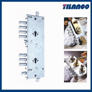 Double Cylinder Lock Body for Security Doors (TLJ015)