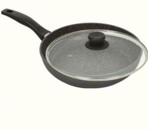 "Marble Nonstick Stone Cookware 11"" Fry Pan with Lid pictures & photos"