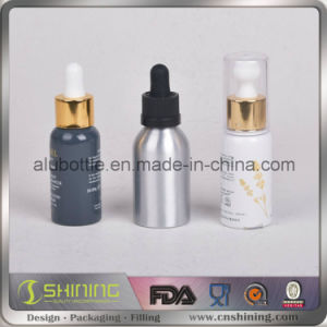 Fancy Aluminum E-Liquid Dropper Bottles