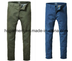 Fashion Colorful Chino Soft Cotton Casual Pants for Man pictures & photos
