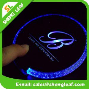 High Quality Fashion LED Custom Acrylic Coaster (SLF-LC009) pictures & photos