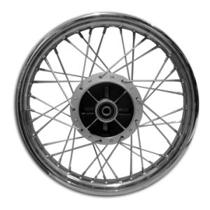 Motorcycle Front and Rear Wheel Complete Cg125 Cg150 pictures & photos
