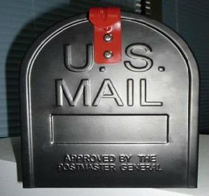 Stainless Steel USA Mailbox USA Letter Box Ksx-201 pictures & photos