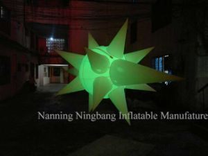 Party Decoration Inflatable Advertisement Inflatable Star with LED Light for Event pictures & photos
