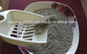 Add Apple Scent Clumpling Bentonite Cat Litter pictures & photos