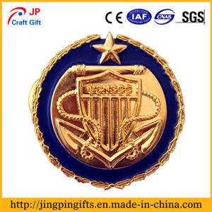 China Supplier Custom Die Cast Metal Lapel Pin Badge with Enamel pictures & photos