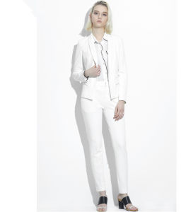 Made to Measure Fashion Stylish Office Lady Formal Suit Slim Fit Pencil Pants Pencil Skirt Suit L51630 pictures & photos