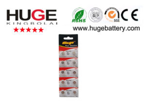 1.5V mercury free alkaline button cell AG3 pictures & photos
