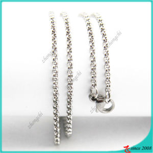 Stainless Steel Rolo Chain Necklace Jewelry