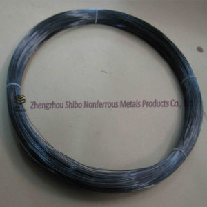 99.95% Pure Wolfram Filament, Customized Size Tungsten Wire pictures & photos