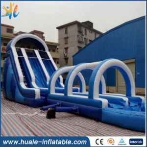 PVC Inflatable Water Park/Used Inflatable Water Slide with Pool