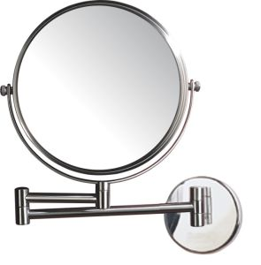 Hotel Wall Mounted Adjustable Twin Arm Double Sided Magnifying Mirror pictures & photos