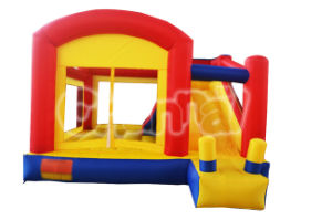 Mini Home Use Inflatable Bouncy Slide/Residential Inflatable Castle Slide Qb024 pictures & photos