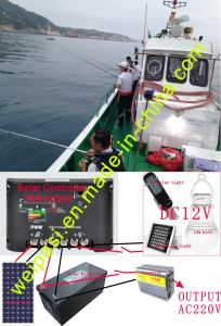 Retrofit Fishing boat solar energy, Solar Panel+Solar Marine light+Floating Light+Solar Batteries+Solar Charge Controller+Inverter pictures & photos