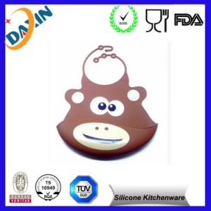 Anti-Bacteria Silicone Durable Waterproof Washable Baby Bib pictures & photos