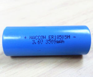 Lithium Battery of Er18505m 3.6V 3500mAh Power Battery pictures & photos