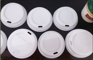 12/16oz 89mm Flaning Coffee Cup Lid for Paper Cup Non Spill pictures & photos