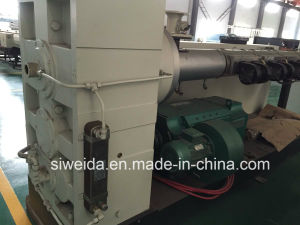 Conical Twin-Screw Extruder pictures & photos