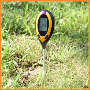 4 in 1 Soil pH Moisture Sensor Meter Temperature Humidity and Sunlight Intensity Tester for Gardening Farming pictures & photos