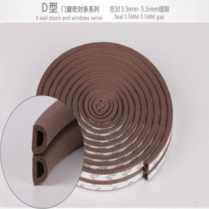 Soundproof Rubber Door Seal with 3m Adhesive Tape pictures & photos