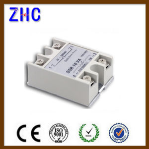 SSR-Va Series Output 24-380VAC 10A 16A 25A 40A 60A 80A 100A SSR Solid State Voltage Regulator Relay pictures & photos
