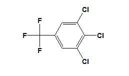 3, 4, 5-Trichlorobenzotrifluoride CAS No. 50594-82-6