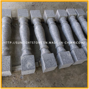 Cheap G562 Maple Red Granite Polished Stone Stair Balustrade/ Baluster pictures & photos