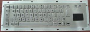 Waterproof Industrial Computer Metal Keyboard with Touchpad (KMY299D-T) pictures & photos