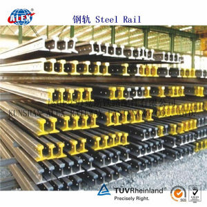 DIN Standard Steel Rail A100, A55, A65, A75, A120 pictures & photos