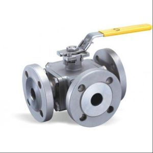 Forged Flanged Steel 3 Way Ball Valve pictures & photos
