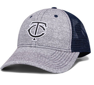 Grey Knitted Fabric Trucker Cap with 3D Embroidery Logo pictures & photos