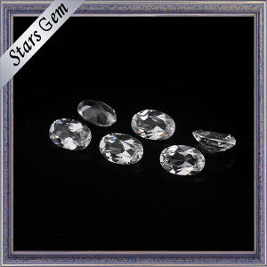 Synthetic Oval Faceted Cut CZ Gemstone for Jewelry pictures & photos