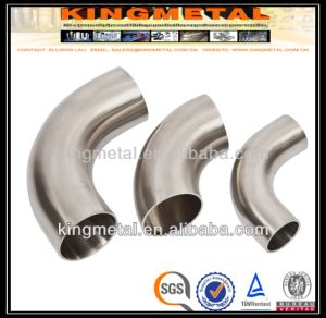 """ASTM A403, Wp347 6"""" Short Radius Elbow of Pipe Fitting. pictures & photos"""