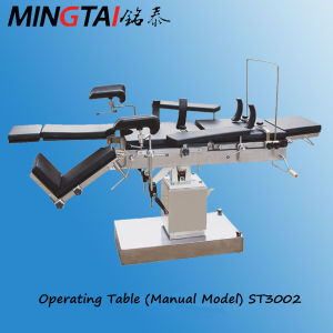 Manual Operating Table Hospital Room Table pictures & photos